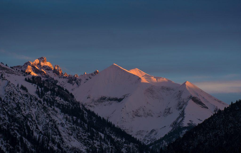 Berglandschaften der Alpen